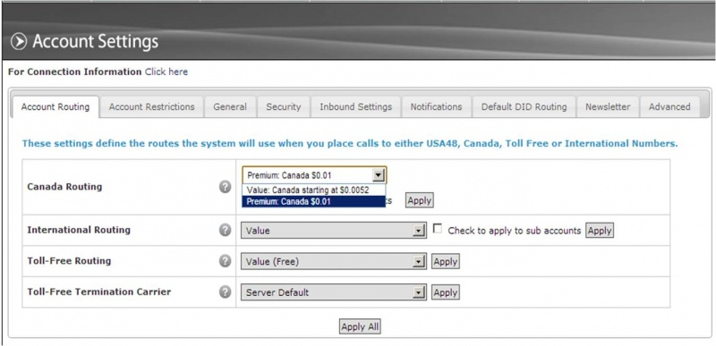 how to get voip.ms premium