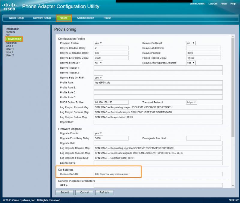 Cisco SPA112 - VoIP ms Wiki